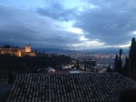 Sunset over Granada